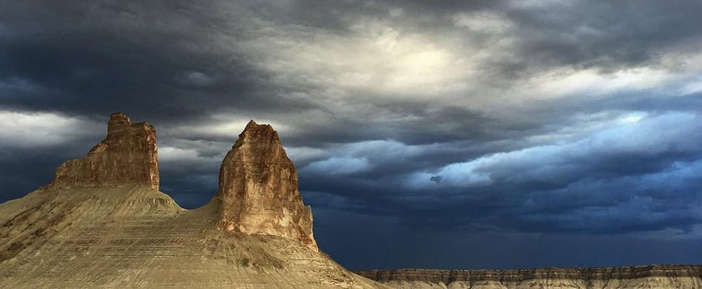 Instagram of the Day: Stormy Skies in Kazakhstan