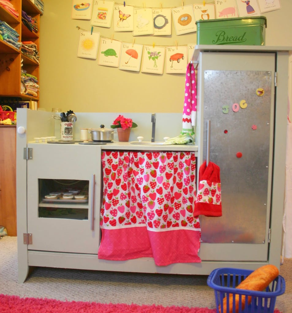 Upcycle Your Changing Table Into a Play Kitchen