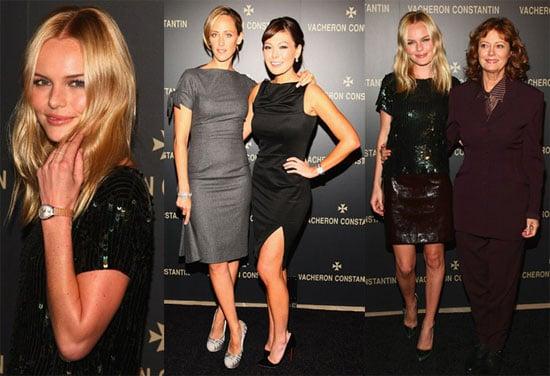 Photos of Kate Bosworth, Kim Raver, Lindsay Price, Susan Sarandon at Vacheron Constantin Party in NYC