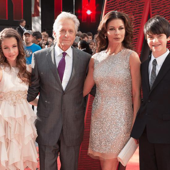 Michael Douglas Catherine Zeta-Jones Kids Ant-Man Premiere