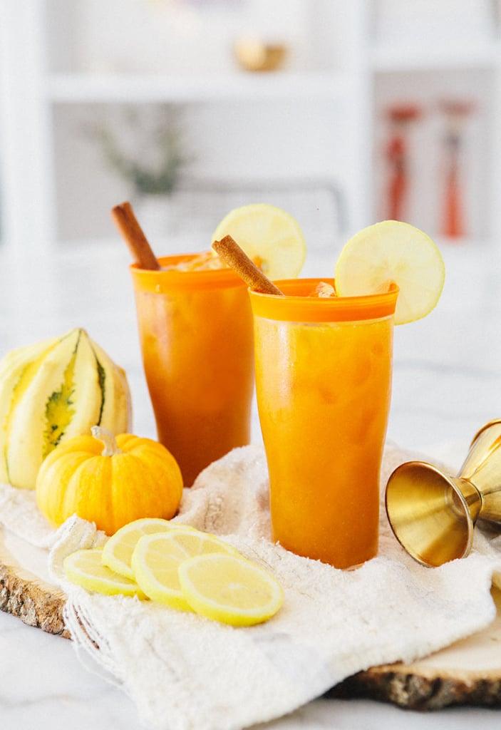 Pumpkin Fizz Cocktail