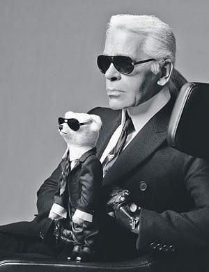 Freaky or Fabulous? Karl Lagerfeld, the Teddy Bear