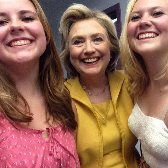 Presidential Selfie Girls Addy and Emma Nozell   Video