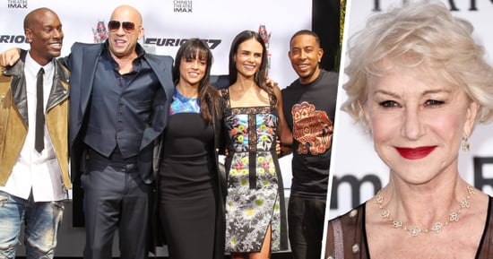 Helen Mirren Is Nervous About Being Treated Like the New Kid on the Fast 8 Set