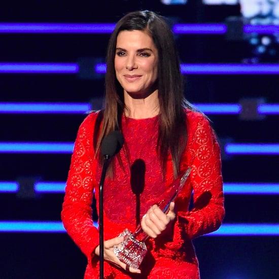 Sandra Bullock People's Choice Awards Acceptance Speech 2016