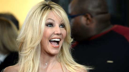EXCLUSIVE: Tyler Perry Praises Heather Locklear's New 'Bad Girl' Role as She Makes Stunning Red Carpet Appearance