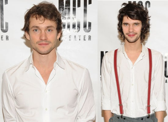 Photos of Ben Whishaw and Hugh Dancy who are Starring in Off Broadway Production The Pride in New York