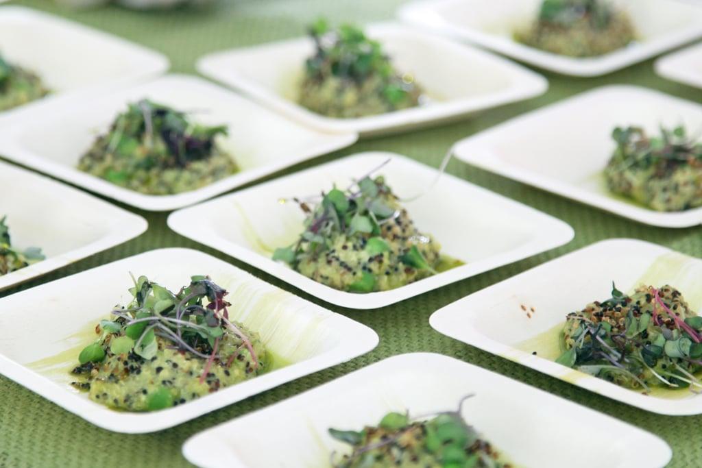 Quinoa Risotto With Peas