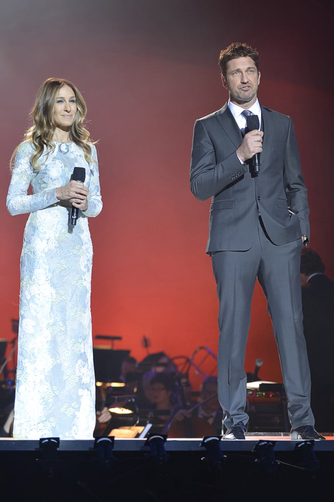 Sarah Jessica Parker and Gerard Butler attended — and presented at — the Nobel Peace Prize Concert in Oslo on December 11.