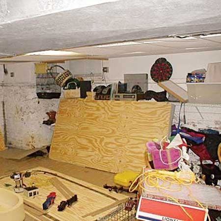 Before and After:  A Basement Goes Big