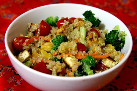 Recipe For Quinoa Salad With Dried Apricots and Tofu