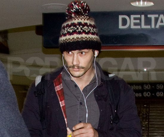 Slide Picture of James Franco at LAX