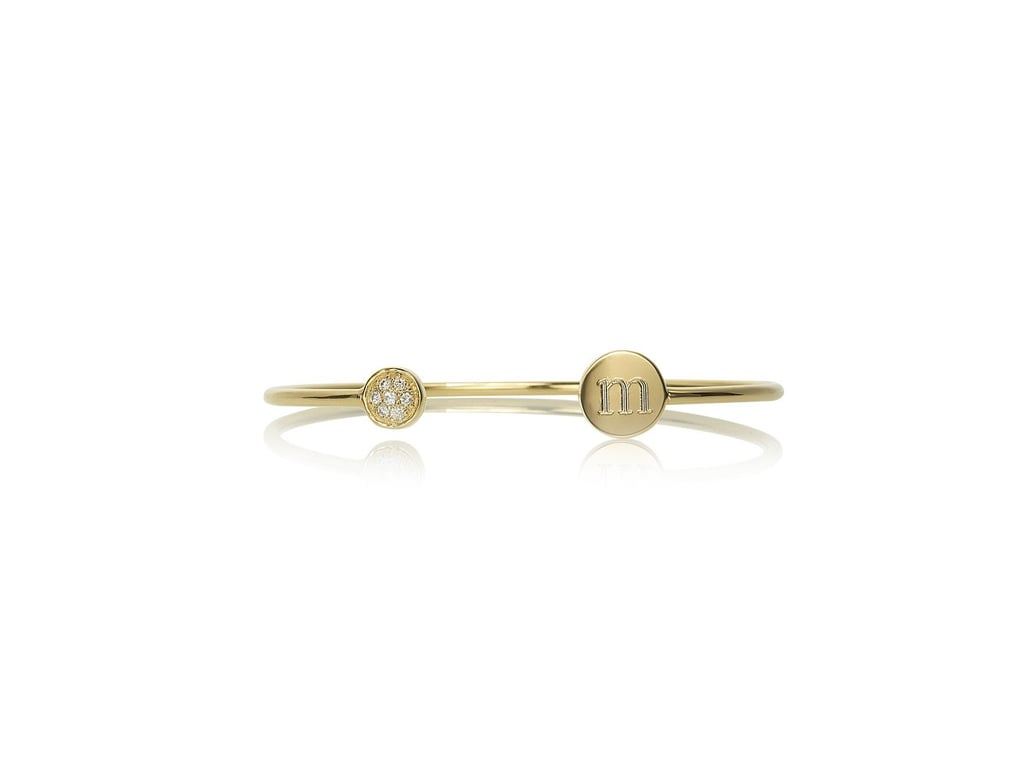 Gwyneth Paltrow's got great taste, so it's no surprise that this Sarah Chloe monogram bangle ($379), made exclusively for Goop, is a winner. And anything personalized gets an extra vote from us! — Kim Timlick, director of POPSUGAR international