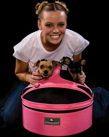 Sleepypod Blossoms Pink for Breast Cancer