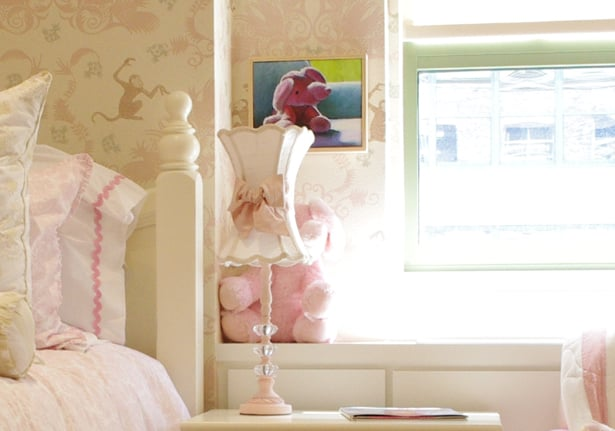 Another shot of the adorable table lamp.
