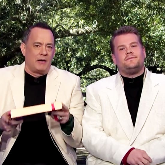 Tom Hanks and James Corden Re-Create Movies