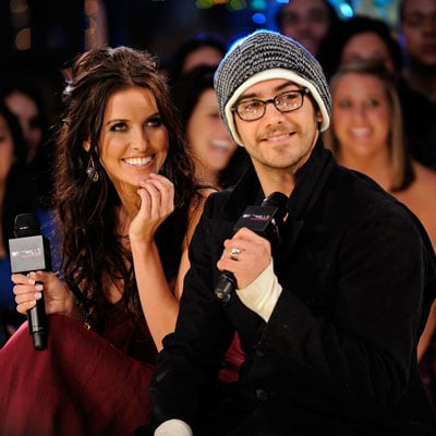 Audrina Patridge and Justin Bobby at the Hills Finale
