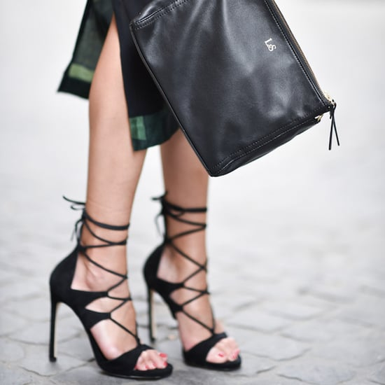 Lace-Up Heels Trend
