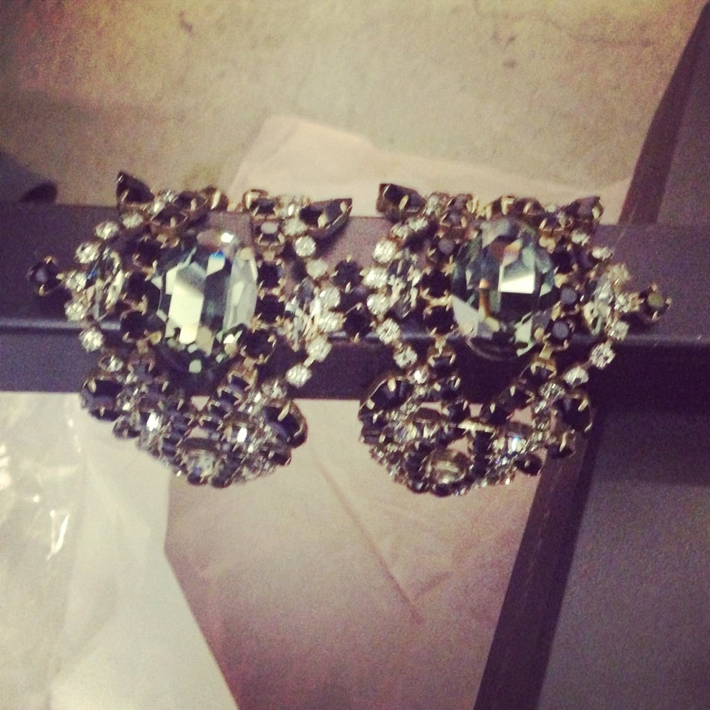 Stylist's tip: double up on statement jewels. One for each wrist.