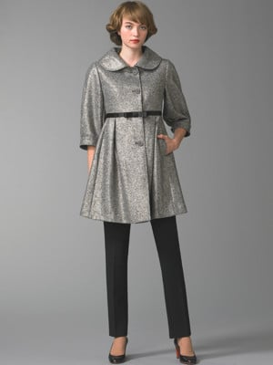 Burberry Metallic Donegal Coat: Love It or Hate It?