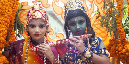 18 Captivating Photos Of Kids Dressed Up As Hindu Gods And Goddesses