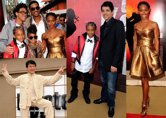 Pictures of Will, Jada, Jaden, Willow Smith From The Karate Kid Premiere 2010-06-08 19:30:26