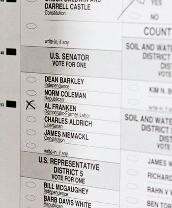 Briefing Book! Al Franken's Bid For Senate Seat Dealt Blow