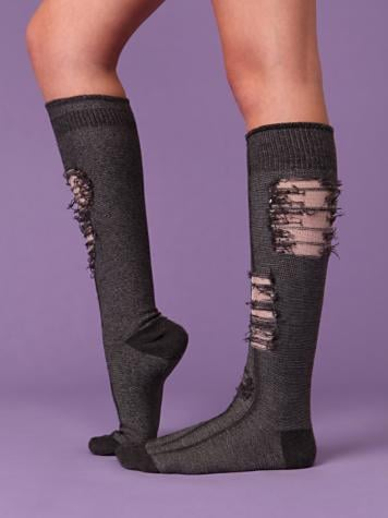 Tattered Socks for 2010 at Free People