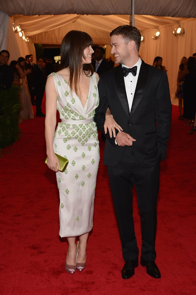 Justin and Jessica only had eyes for each other at the May 2012 Met Gala in NYC.
