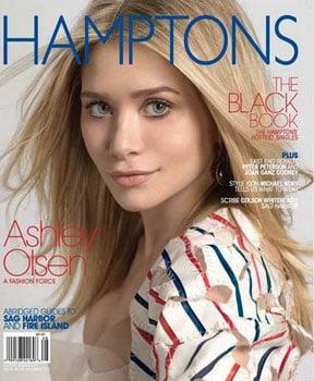 Ashley Olsen For Hamptons Magazine July 4, 2009