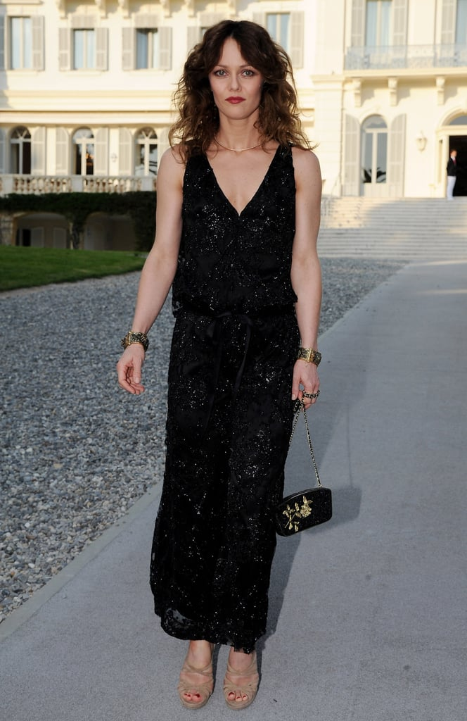 Vanessa Paradis in a Chanel Fall 2011 jumpsuit.