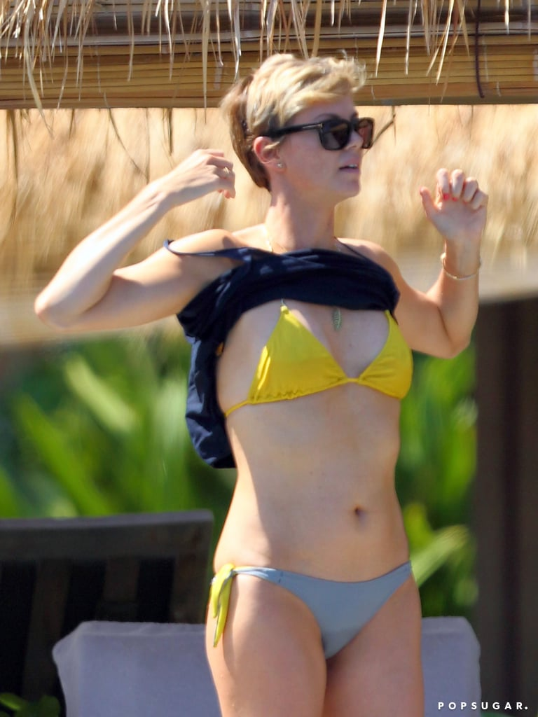 Charlize Theron Shows Off Her Hot Birthday Bikini Bod