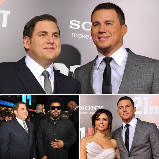 Jonah and Channing Ditch Their Cop Uniforms For Suits at the 21 Jump Street Premiere