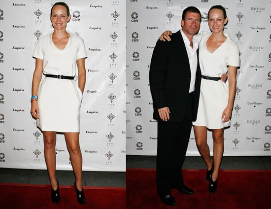 Amber Valetta Attends The Sarah Michelle Gellar and CARE Celebrate Ivy Hotel Anniversary Party