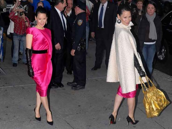 The Look For Less: Lucy Liu