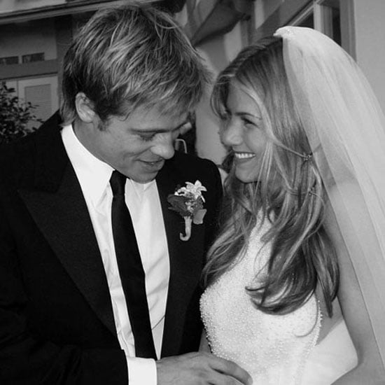 Brad Pitt and Jennifer Aniston tied the knot in Malibu in July 2000.