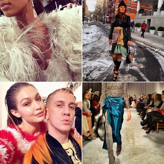 No Blurry Runway Shots Here! See Fashion Week's Best Instagrams