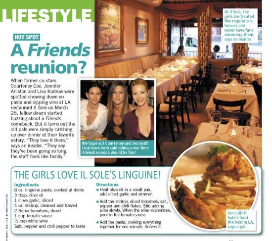 Eat Like Friends: Il Sole's Shrimp Linguine