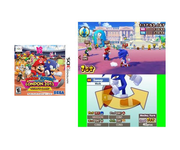 Mario and Sonic: London Olympic Games