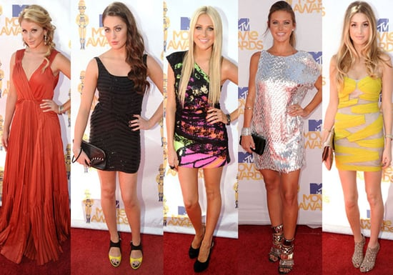 The City and The Hills Stars at the 2010 MTV Movie Awards