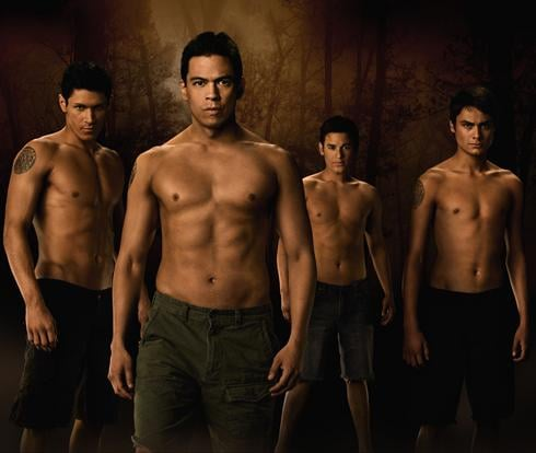 Shirtless Photo of New Moon Wolf Pack