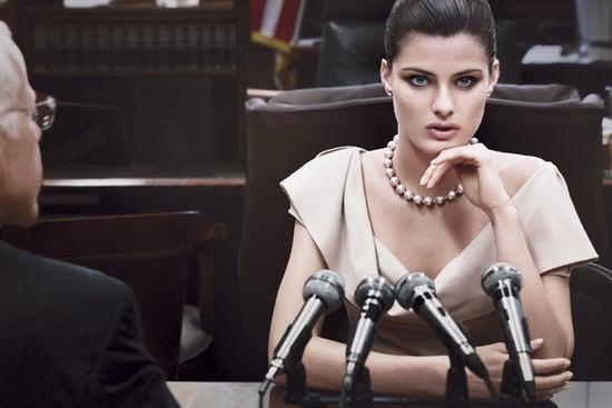 Donna Karan's Fall 2011 Ad Campaign With Isabeli Fontana