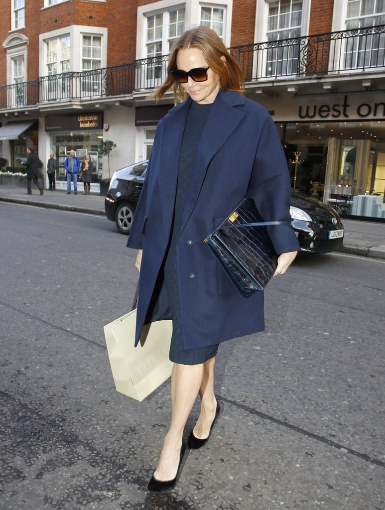 Stella McCartney dropped by Kate's bash.