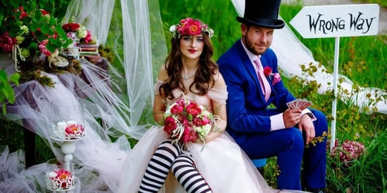 This 'Alice In Wonderland' Wedding Will Take You Down The Rabbit Hole