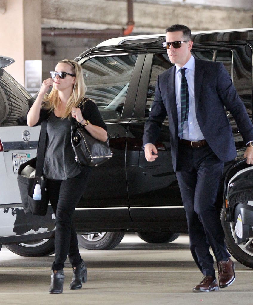 Reese Witherspoon joined Jim Toth for an LA outing.
