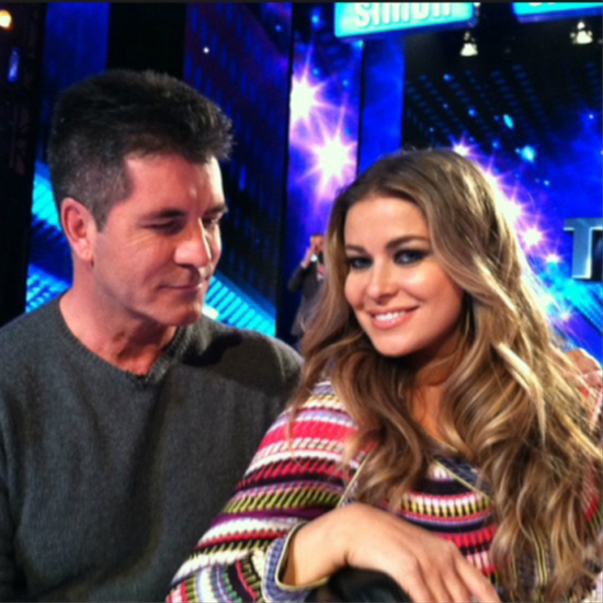 Simon Cowell and Carmen Electra Romance Rumors | Video