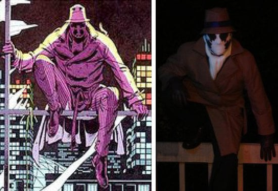 Rorchach from Watchmen