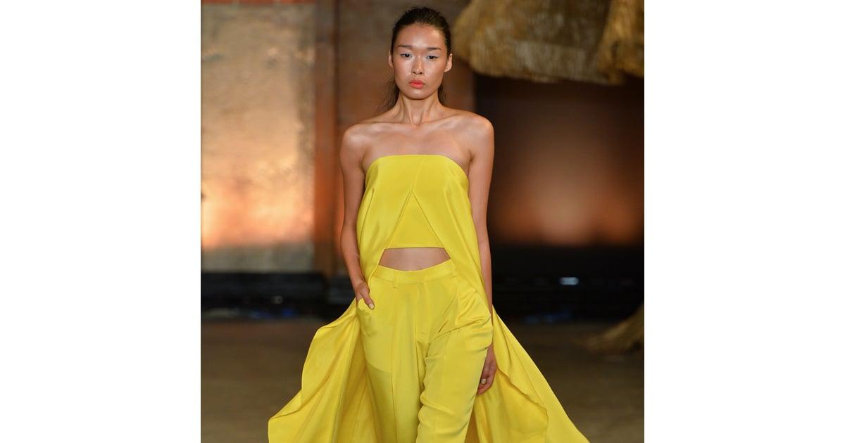 2014 Spring New York Fashion Week Runway Christian Siriano ...