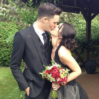 Shenae Grimes Marries Josh Beech In A Black Vera Wang Dress