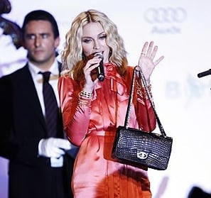 Madonna's $471,000 Chanel Bag: Worth More Than a Kiss from Clooney!